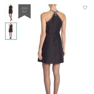 Kate Spade Rhinestone Bow A-Line Dress